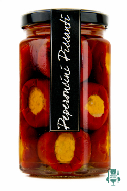 Peperoncini piccanti farciti - Casina Rossa