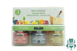 Tris di confetture e gelatine abruzzesi per formaggi - Feudo delle Ginestre